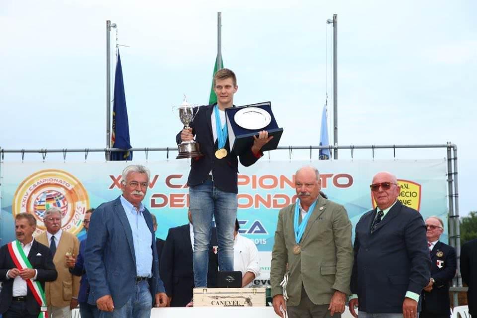 Campionato tiro elica Canevel Spumanti podio